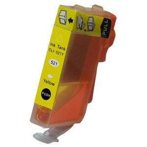 CLI-521Y compatible inktpatroon geel 11 ml