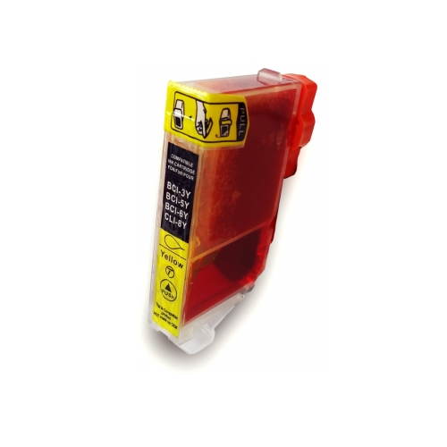 CLI-8Y compatible inktpatroon geel 14 ml