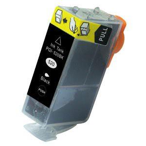 PGI-520BK compatible inktpatroon zwart 21 ml