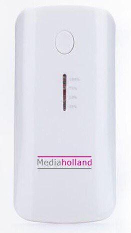 Powerbank MediaHolland 5600mAh met usb-kabel