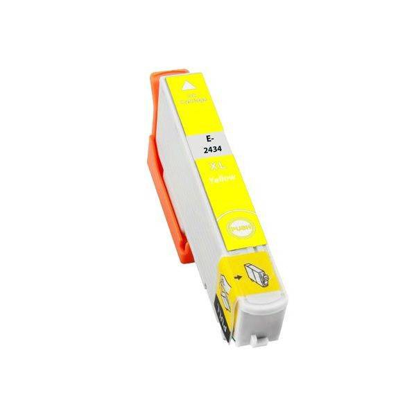 T2434 compatible inktpatroon 24XL geel 10 ml