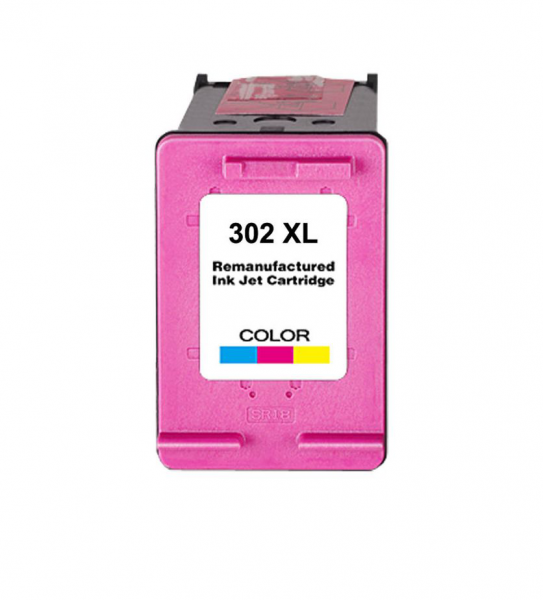 Huismerk inktpatroon nr. 302XL F6U67AE Kleur 21 ml