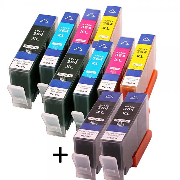 364XL Huismerk Cartridges Set van 10 stuks XL