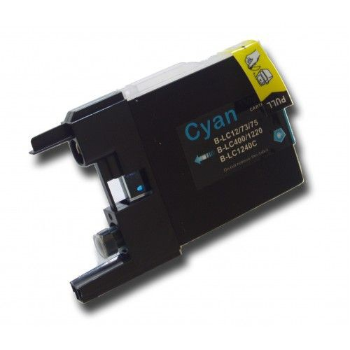 LC1220/1240 compatible inktpatroon cyaan 10 ml