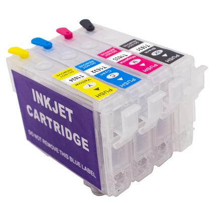 16XL T1631-T1634 Hervulbare Cartridge met ARC chip