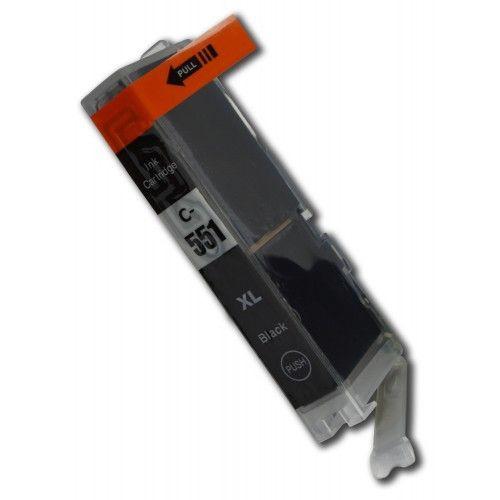 CLI-551BK compatible inktpatroon zwart 11 ml