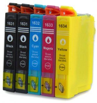 T1631-T1634 compatible inktpatronen 16XL set van 5 stuks