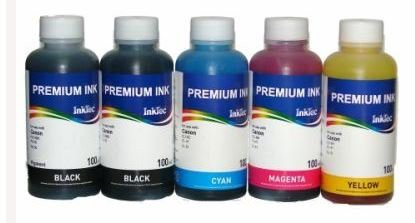 CLI-551, CLI-541, CLI-546, BCI-3, BCI-6 Dye/Pigment refill inkt 100 ml. Set 5 kleuren