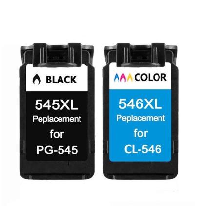 PG-545/CL-546 XL Set huismerk inktpatronen zwart en kleur