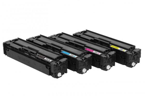 Toners Huismerk 201X Set 4 stuks CF400X-CF401X-CF402X-CF403X