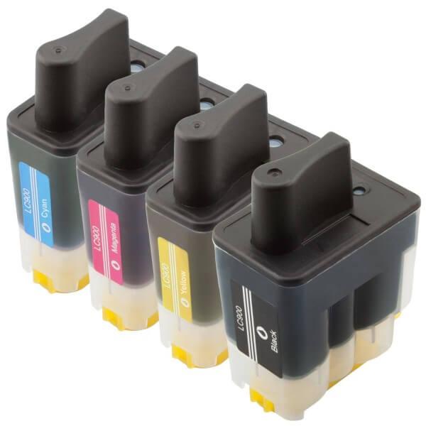 LC900 Huismerk inktpatronen set van 4 stuks