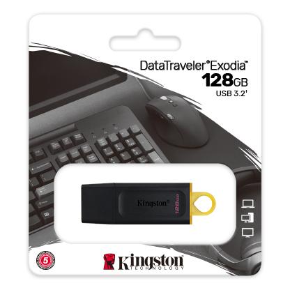 128GB Kingston DataTraveler Exodia USB 3.2
