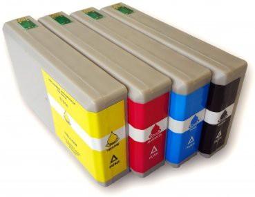 T7011-T7014 compatible inktpatronen XL set van 4 stuks
