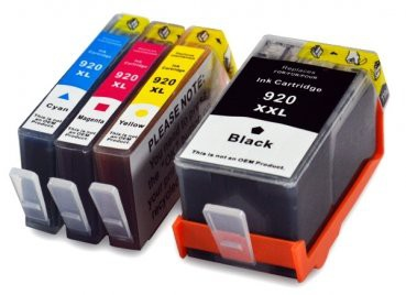 920XL Huismerk inktpatronen Set 4 stuks
