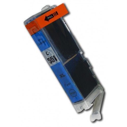 CLI-551C compatible inktpatroon cyaan 11 ml