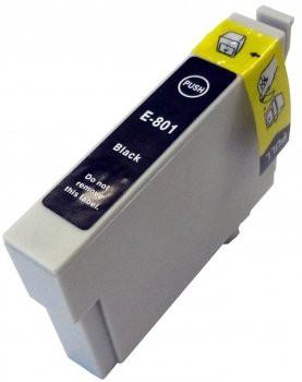 T0801 compatible inktpatroon zwart met chip 15 ml
