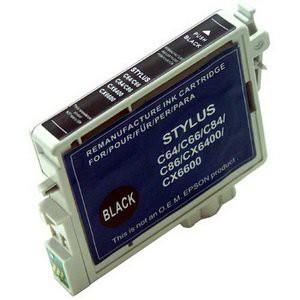 T0441 compatible inktpatroon zwart met chip 20 ml
