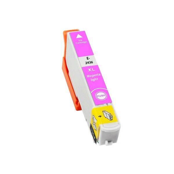 T2436 compatible inktpatroon 24XL licht magenta 10 ml