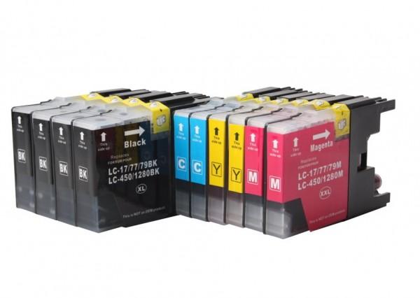 LC1220/1240/1280 Huismerk Inktcartridges set van 10 stuks