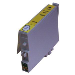 T0554 compatible inktpatroon geel met chip 18 ml