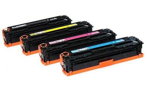 Toners Huismerk 305A(X) Set 4 kleuren CE410X, CE411A, CE412A, CE413A