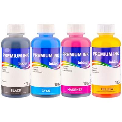 CLI-8, CLI-521, CLI-526 Dye refill inkt 100 ml. voor Canon Set 4 kleuren