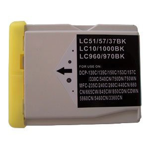 LC1000/LC970 compatible inktpatroon zwart 38 ml XL