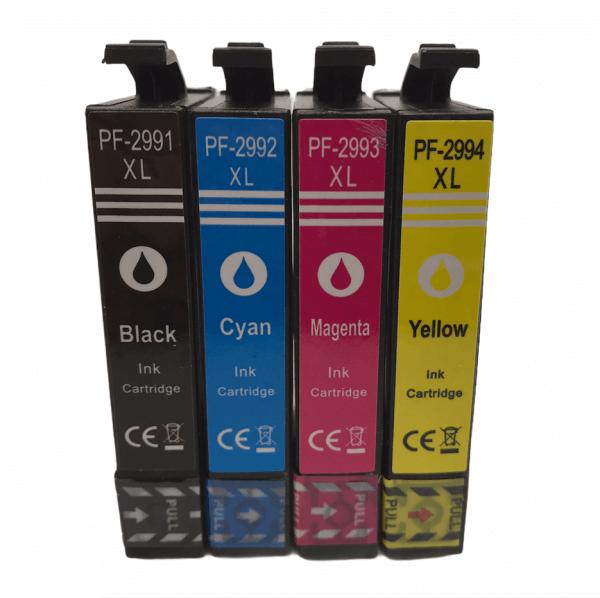 T2991-T2994 Huismerk inktcartridges 29XL set van 4 stuks