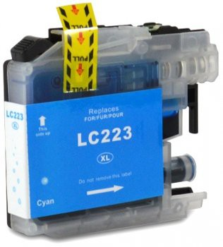 LC223 Huismerk inktpatroon cyaan 10 ml