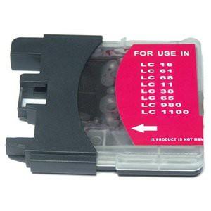 LC1100/LC980 compatible inktpatroon magenta 18 ml