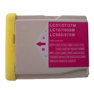 LC1000/LC970 compatible inktpatroon magenta 28 ml XL