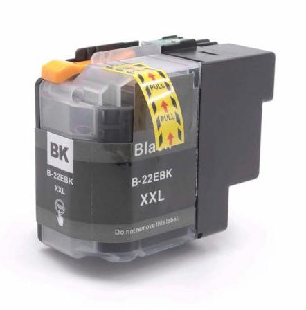 LC22E XL compatible inktpatroon Zwart 50 ml