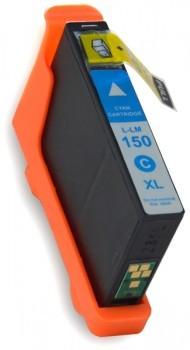 150 compatible inktpatroon Cyaan 18 ml.