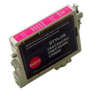 T0443 compatible inktpatroon magenta met chip 18 ml
