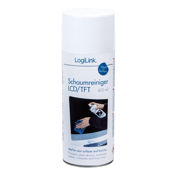LogiLink Cleaning Spray voor beeldscherm/toetsenbord etc. 400ml
