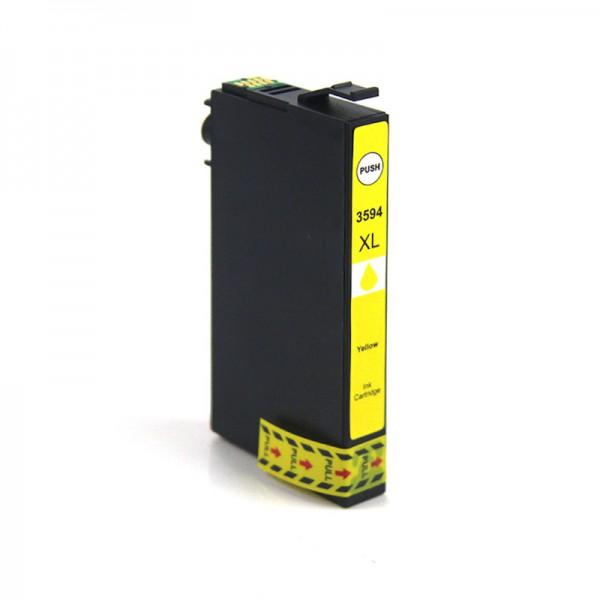T3594 Huismerk inktpatroon 35XL Geel 21 ml