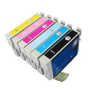 T0481-T0486 compatible inktpatronen set van 6 stuks
