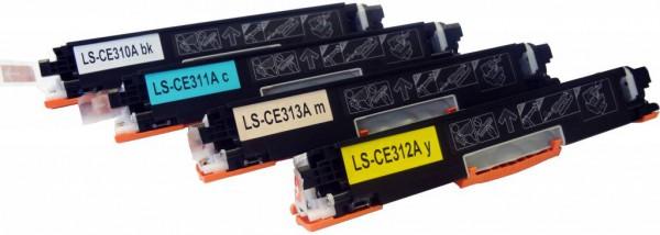 Toners Huismerk 126A Set 4 stuks CE310A t/m CE313A