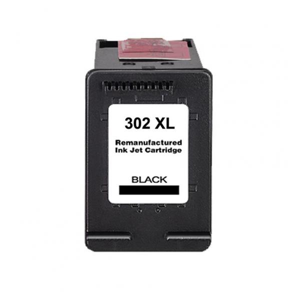 Huismerk inktpatroon nr. 302XL F6U68AE Zwart 15 ml
