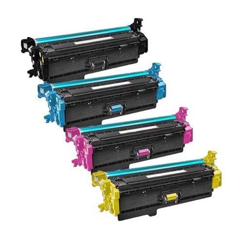 Toners Huismerk 508X Set 4 stuks CF360X-CF361X-CF362X-CF363X