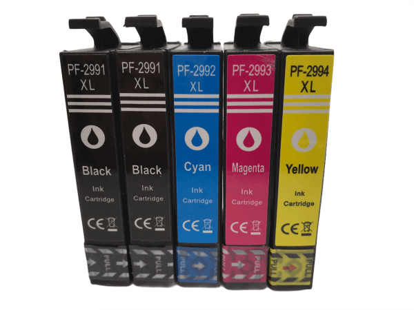 T2991-T2994 Huismerk inktcartridges 29XL set van 5 stuks