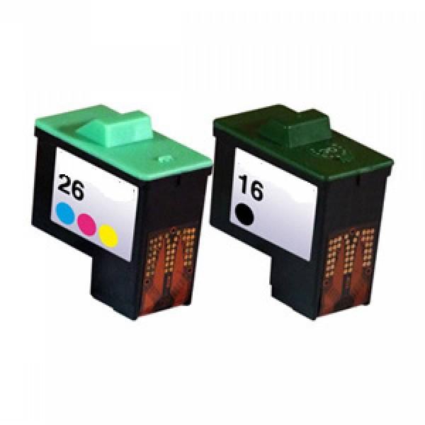Compatibel inktpatroon No.16/26 & 17/27 Combipack