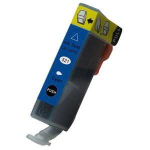 CLI-521C compatible inktpatroon cyaan 11 ml