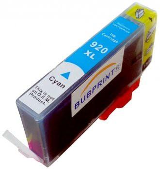 920XL compatible inktpatroon Cyaan 18 ml.