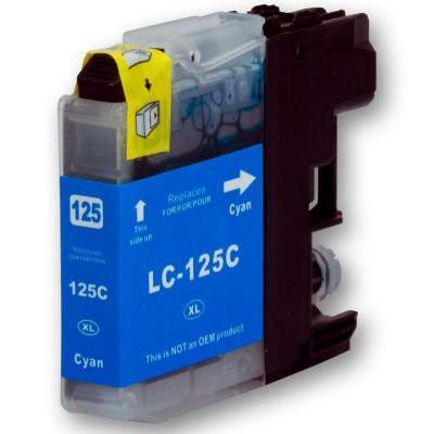 LC125 compatible inktpatroon cyaan 20 ml