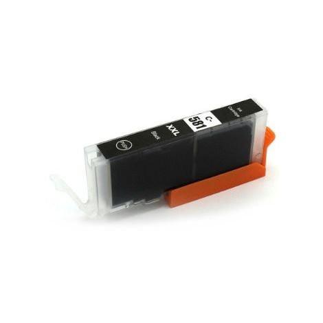 CLI-581BK Huismerk inktpatroon foto zwart met chip 12 ml