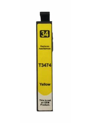 T3474 Huismerk inktpatroon 34XL Geel