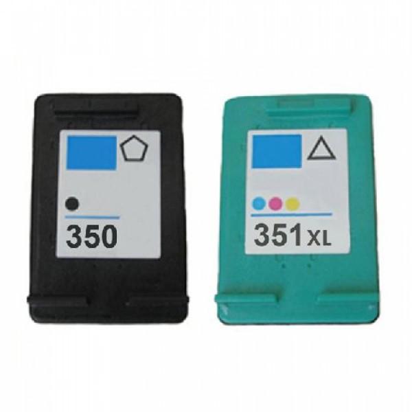 Huismerk inktpatroon voordeelpack nr.350XL+351XL