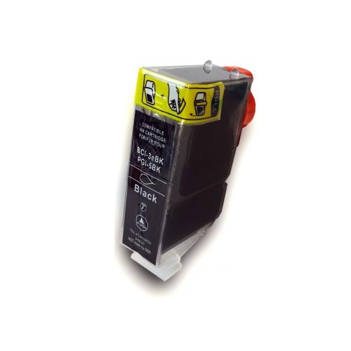 PGI-5BK compatible inktpatroon zwart 28 ml
