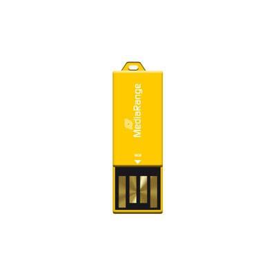16GB MediaRange USB nano flash drive paper-clip MR976